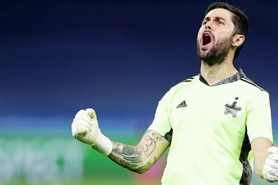 Голкипера Шерифа признали лучшим игроком недели в Лиге чемпионов