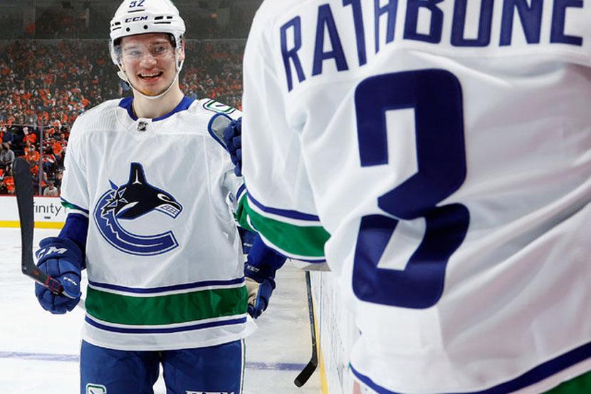 Петтерссон: Рад, что Подколзин забросил дебютную шайбу в НХЛ