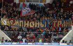 БК ЦСКА поздравил хоккейных одноклубников с победой в чемпионате России