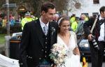 Состоялась церемония бракосочетания Энди Маррея и Ким Сирс