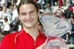 Федерер выигрывает в Гамбурге
