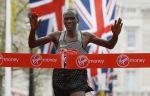 Кениец Элиуд Кипчоге второй год подряд победил на Лондонском марафоне