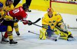 Ворота шведов в матче с Россией будет защищать Маркстрём, Лундквист – в запасе