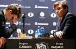 Сергей Карякин сыграл вничью с Карлсеном в 11-й партии за звание чемпиона мира