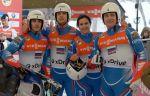 Россия – бронзовый призёр в командном соревновании на ЧМ-2017 по санному спорту