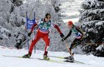 Российские лыжники заняли предпоследнее место в командных соревнованиях двоеборцев