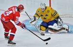 Сборная России вырывает трудовую победу у шведов на Чемпионате мира