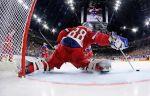 Россияне не оставили шансов сборной Латвии на мировом первенстве по хоккею