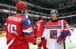 Россия всухую обыгрывает Чехию и выходит в полуфинал
