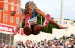 Клишина – четвёртая в прыжках в длину на этапе Бриллиантовой лиги в Лозанне