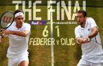 Роджер Федерер выигрывает 8-й титул на Уимблдоне и вписывает своё имя в историю турнира