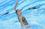 Синхронистка Колесниченко выиграла золото в произвольной программе солисток на ЧМ-2017