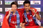 Индонезийцы Ахмад и Натсир стали чемпионами мира по бадминтону в миксте