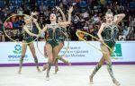 Российские гимнастки завоевали золото Универсиады в групповых упражнениях с обручами