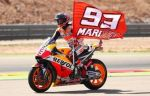 Маркес выиграл гонку MotoGP Гран-при Арагона, Росси - пятый