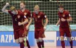 Сборная РФ по мини-футболу обыграла азербайджанцев на Турнире четырёх наций в Иране