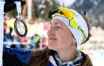 Бьёрндален Гордится Домрачевой из-за её поступка на финише пасьюта на этапе КМ в Антхольце-Антерсельве