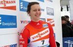 Саночница Батурина поднялась на 15-е место после третьего заезда на ОИ