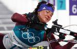 ОИ-2018, биатлон, индивидуальная гонка, женщины, прямая текстовая онлайн трансляция