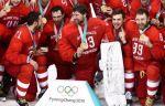 """Исинбаева – хоккеистам: """"Ребята, спасибо за радость, вы были великолепны"""""""
