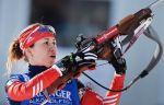 Домрачева выиграла спринт в Тюмени, Виролайнен - 16-я