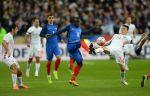 Сборная России проигрывает французам в Санкт-Петербурге