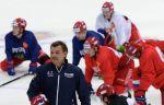 Олимпийская сборная России по хоккею тренируется во вторник в полном составе