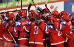Обнародован состав сборной России на Шведские хоккейные игры