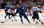 Хоккей, ЧМ-2018, 1/4 финала, Швеция - Латвия, прямая текстовая онлайн трансляция