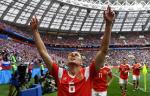 Сборная России стартовала с триумфальной победы над Саудовской Аравией, Робби Уильямс устроил шоу на церемонии открытия