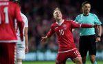 Сборная Дании одержала победу над перуанцами в дебютном матче на ЧМ