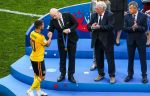 Зепп Блаттер поздравил сборную Бельгии с бронзой ЧМ-2018