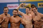 Мужская сборная России выиграла эстафету вольным стилем на чемпионате Европы