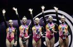 Российские гимнастки завоевали золото чемпионата Европы в командных соревнованиях