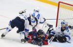 """Хоккей. Турнирная таблица КХЛ. """"Торпедо"""" одолело """"Барыс"""" в овертайме и возглавило Восток"""
