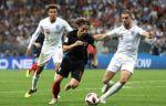 Хорватия и Англия при пустых трибунах сыграли между собой вничью