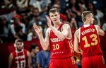 Российские баскетболисты победили сборную Чехии в отборочном матче Кубка мира