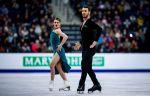 Фигурное катание, чемпионат Европы, танцы на льду, произвольный танец, прямая текстовая онлайн трансляция