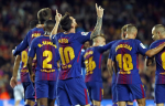 Футбол, Примера, Барселона - Валенсия, прямая текстовая онлайн трансляция