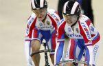 Войнова и Шмелева вышли в полуфинал кейрина на ЧМ по велоспорту на треке