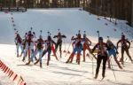 Сборная России побеждает в смешанной эстафете на чемпионате Европы по биатлону