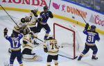 Хоккей. НХЛ, финал, шестой матч, Сент-Луис - Бостон, прямая текстовая онлайн трансляция