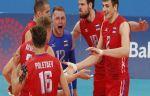 Россияне проигрывают Словении в четвертьфинале чемпионата Европы по волейболу