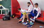 Тренировка сборной России перед матчем с Шотландией. ФОТО