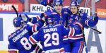 Хет-трик Барабанова в видеообзоре матча КХЛ ЦСКА - СКА