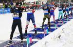 Кубок мира по биатлону: прямая видеотрансляция мужской эстафеты в Эстерсунде