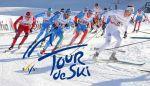 Остберг выиграла гонку преследования в Тоблахе на Тур де Ски, Непряева проиграла фотофиниш в борьбе за бронзу