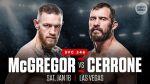 Великолепное возвращение Макгрегора в UFC. Видео боя с Серроне