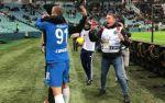 Кокорин забил первый гол в РПЛ, а затем отпраздновал успех с Савиным