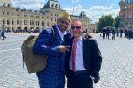 Известный боксёр Рой Джонс посетил парад Победы в Москве